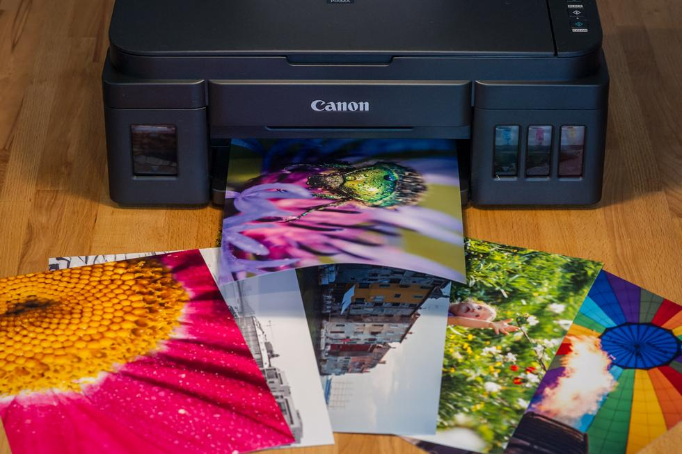 Цветная и черно-белая печать картинки